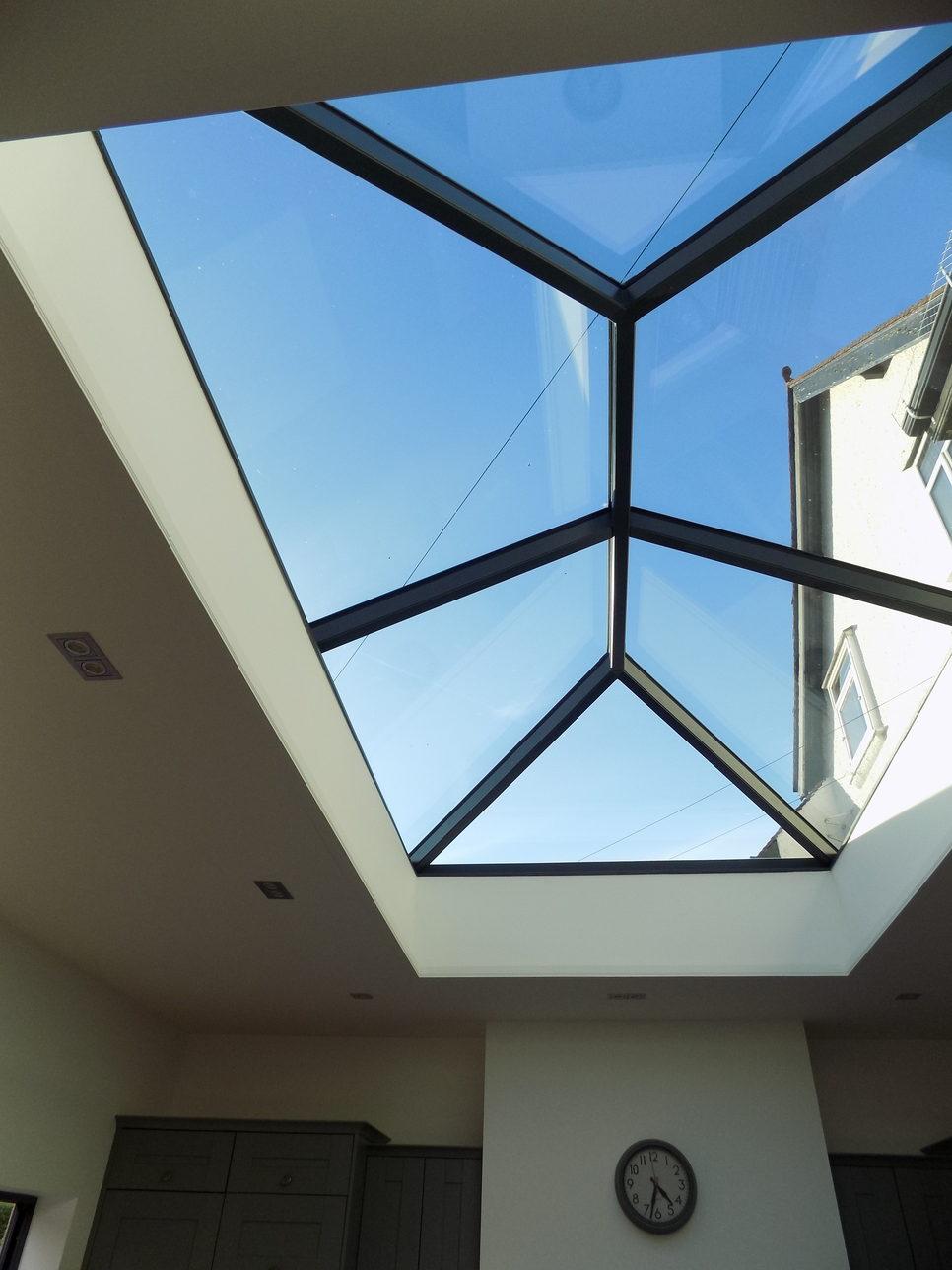 Modern Extension With Glass Roof Lantern Joe Bonner